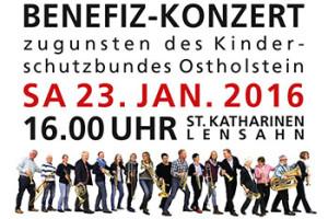Benefiz-Konzert am 23.01.2016 in Lensahn