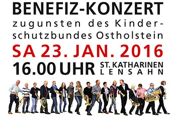 Benefiz-Konzert am 23.01.2016 in Lensahn