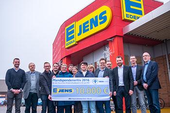 Edeka spendet 10.000 €