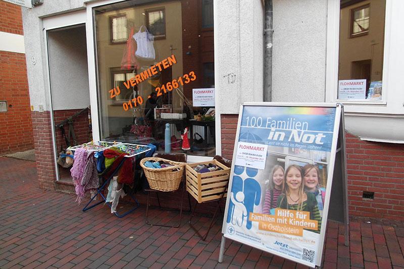 Kleiderstube sammelt für Familien in Not