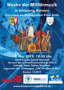 Vorverkauf für Benefizkonzert am 14. Mai in Neustadt hat begonnen