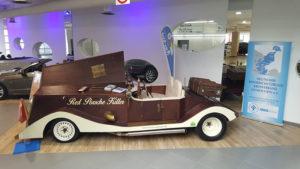 """Spenden sammeln mit """"Holz-Royce"""""""